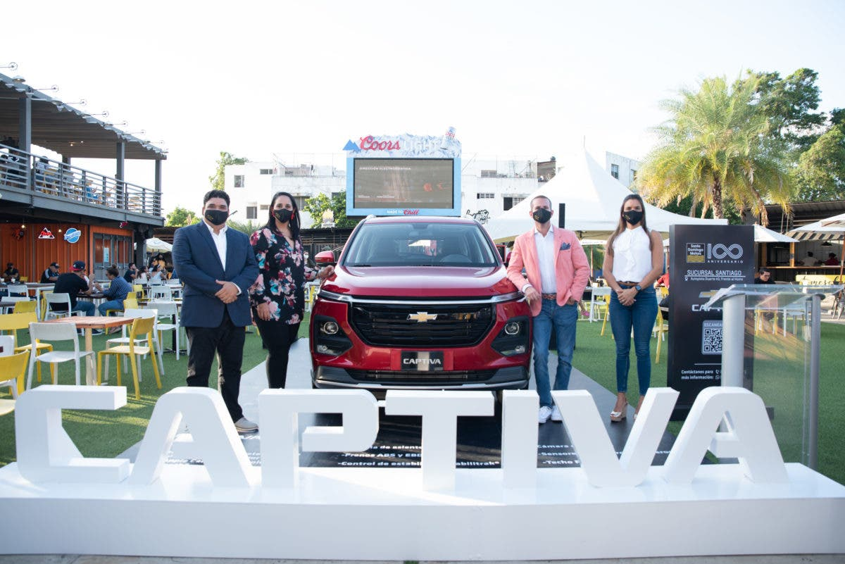 Presentan en Santiago renovada Chevrolet Captiva 2022
