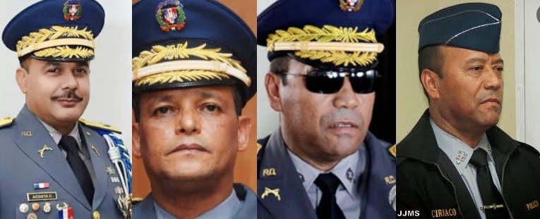 Conozca los generales ascendidos y puestos en retiros por Luis Abiander