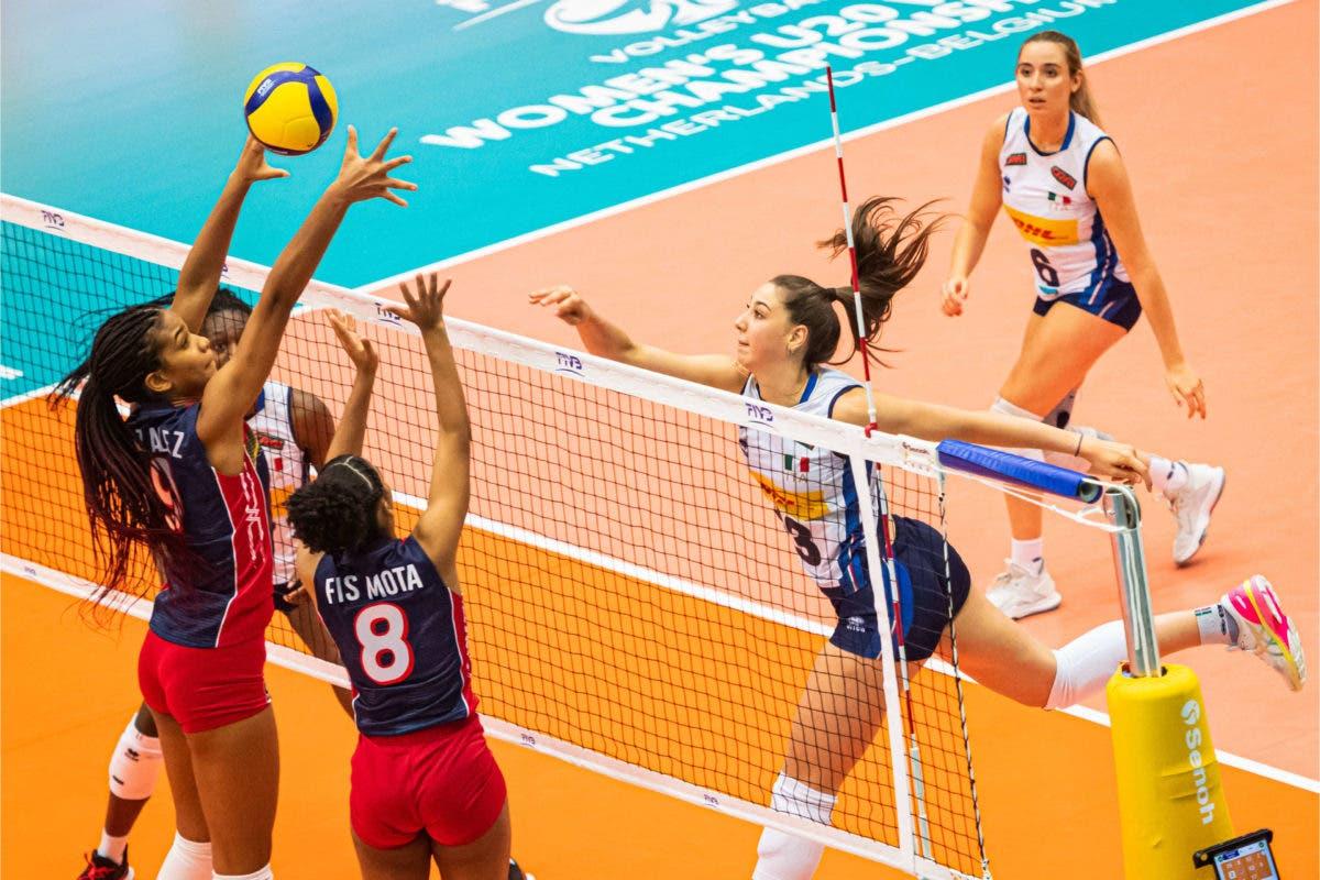 Italia vence 3-0 a República Dominicana en Mundial de Voleibol Femenino