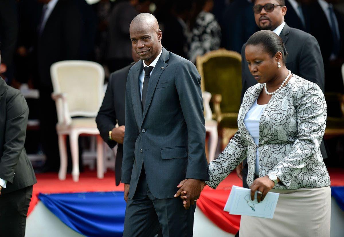 Martine Moïse: «Hay otros mercenarios que quieren asesinar el sueño del presidente»