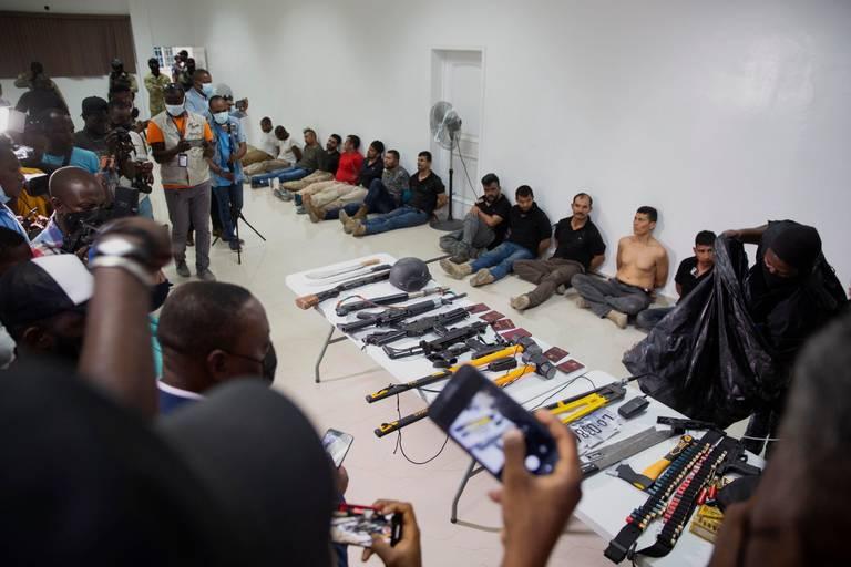 Los movimientos de exmilitares colombianos previo al asesinato del presidente de Haití