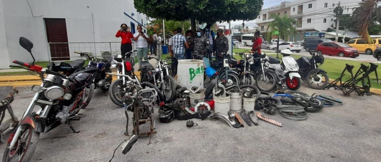 Apresado hombre habría robado más de 18 motocicletas en Punta Cana