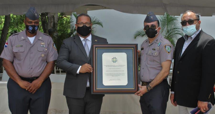 Instituto Policial de Educación reconoce al INAP