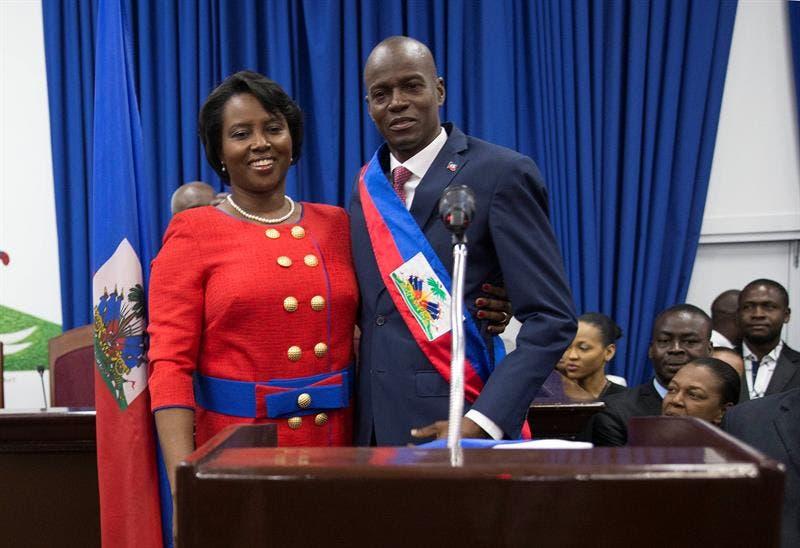 La primera dama de Haití llega al sur de Florida para recibir tratamiento Miami