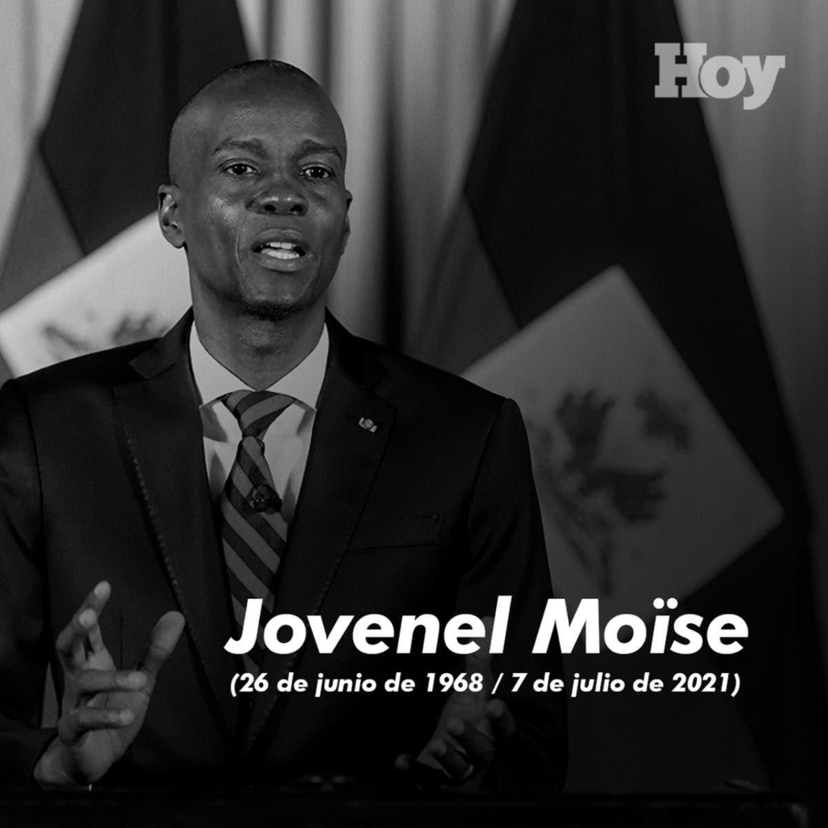 ¿Quién mató a Jovenel Moise?