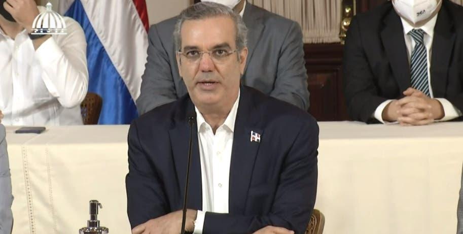 Luis Abinader afirma delincuencia no ha incrementado en el país