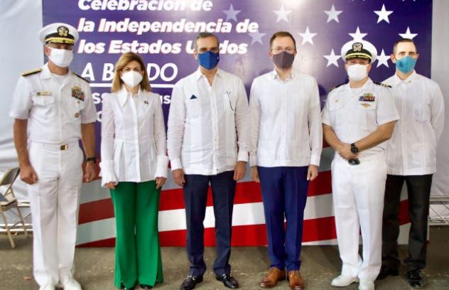 Luis Abinader destaca relaciones entre República Dominicana y EEUU