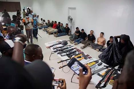Colombia podrá comunicarse con mercenarios detenidos por el magnicidio de Moïse tras intervención de la OEA