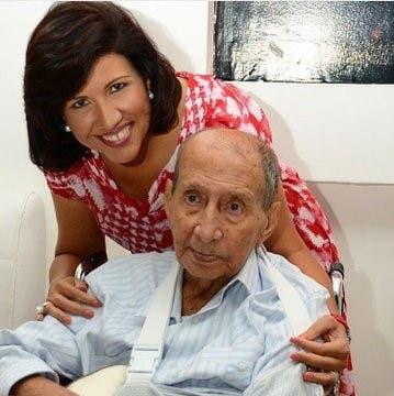 """Margarita Cedeño felicita a los padres dominicanos: """"quiero honrar la memoria de mi papá"""""""