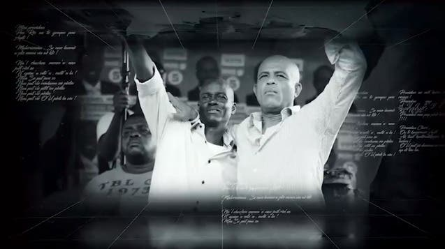 El video que hizo Michel Martelly para Jovenel Moise