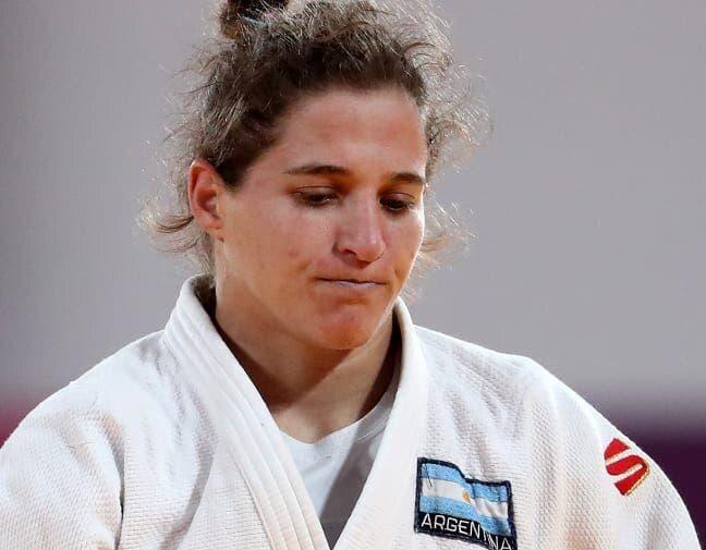 Judoca argentina Paula Pareto se retira tras derrota en Tokio