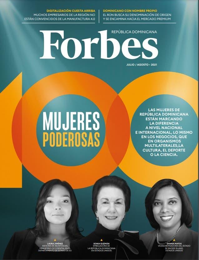 Revista Forbes incluye a tres dominicanas en su portada