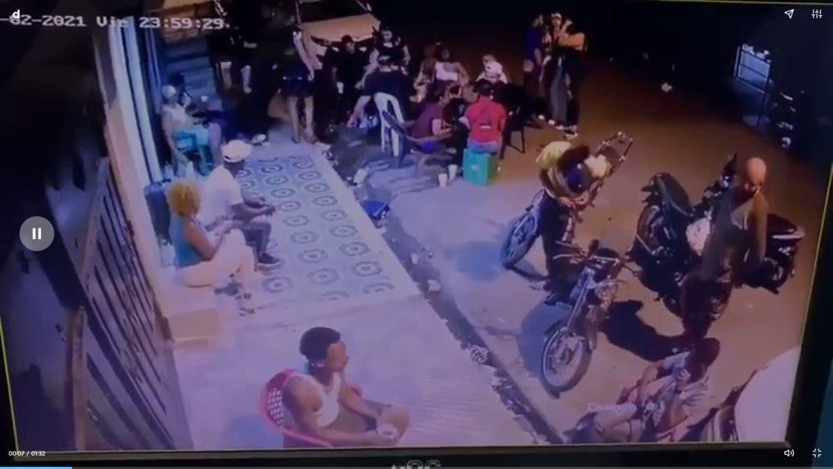 Video muestra momento en el que matan a tres personas y hieren a otras seis en SFM