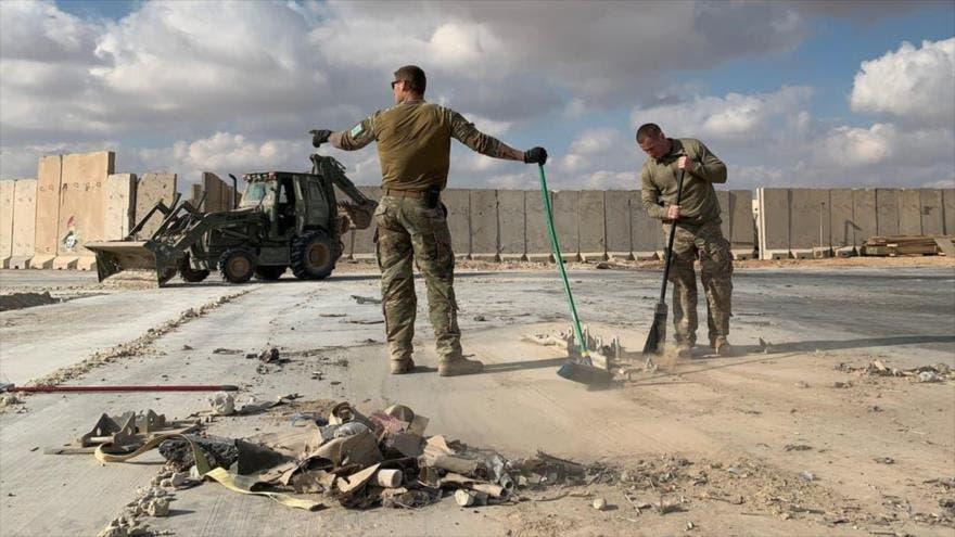 Ataque con drones contra aeropuerto iraquí que alberga base de EE.UU.
