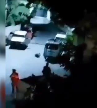 Circula video del momento cuando atacaron residencia del presidente de Haití
