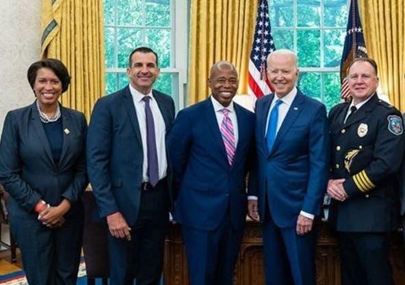 Valora invitación hiciera presidente Biden al candidato alcaldía NYC Eric Adams