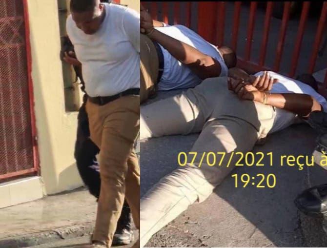 Circulan imágenes de supuestos detenidos por asesinato Jovenel Moise