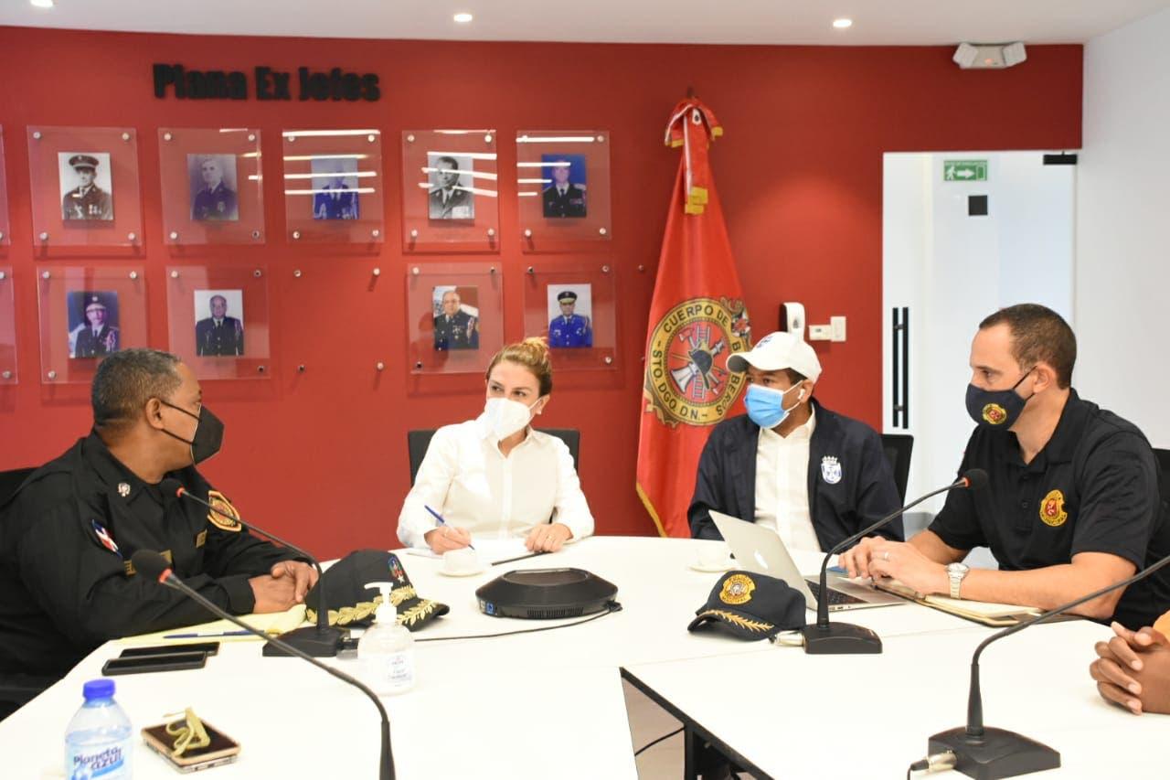 Carolina Mejía activa Comité de Prevención del Distrito Nacional ante huracán Elsa