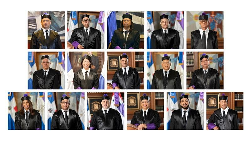 Pleno de la Suprema Corte de Justicia celebra sesión