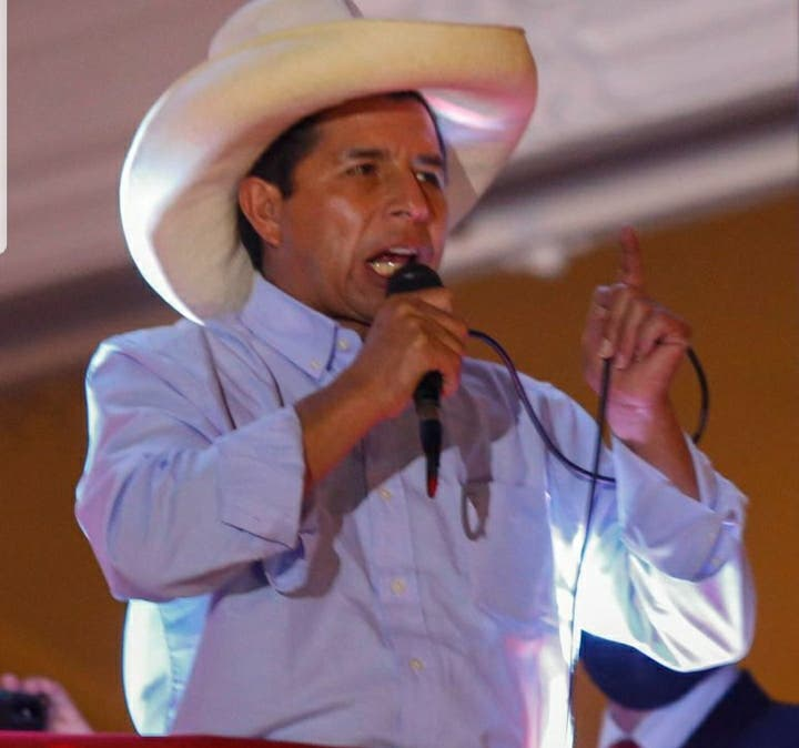 Comunidad peruana en RD pide respaldo para presidente electo Pedro Castillo
