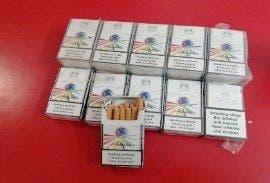Detienen en Capotillo a 10 personas relacionadas a 3,817 unidades de cigarrillos falsificados