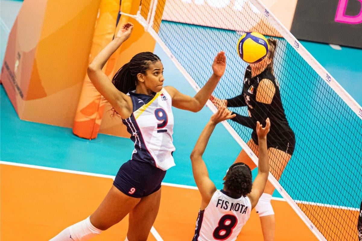 Voleibol femenino de RD avanza entre 8 mejores del mundo; vence a Bélgica 3-0 en Mundial