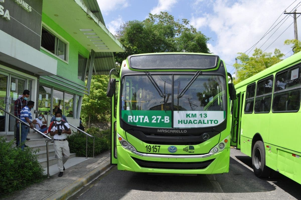OMSA pone en marcha la ruta 27B que operará desde el Km 13 hasta Avenida Duarte