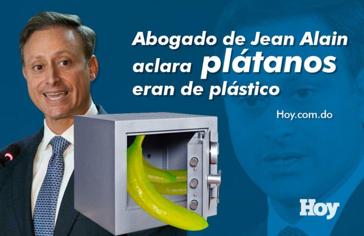 Video: Abogado de Jean Alain aclara plátanos eran de plástico
