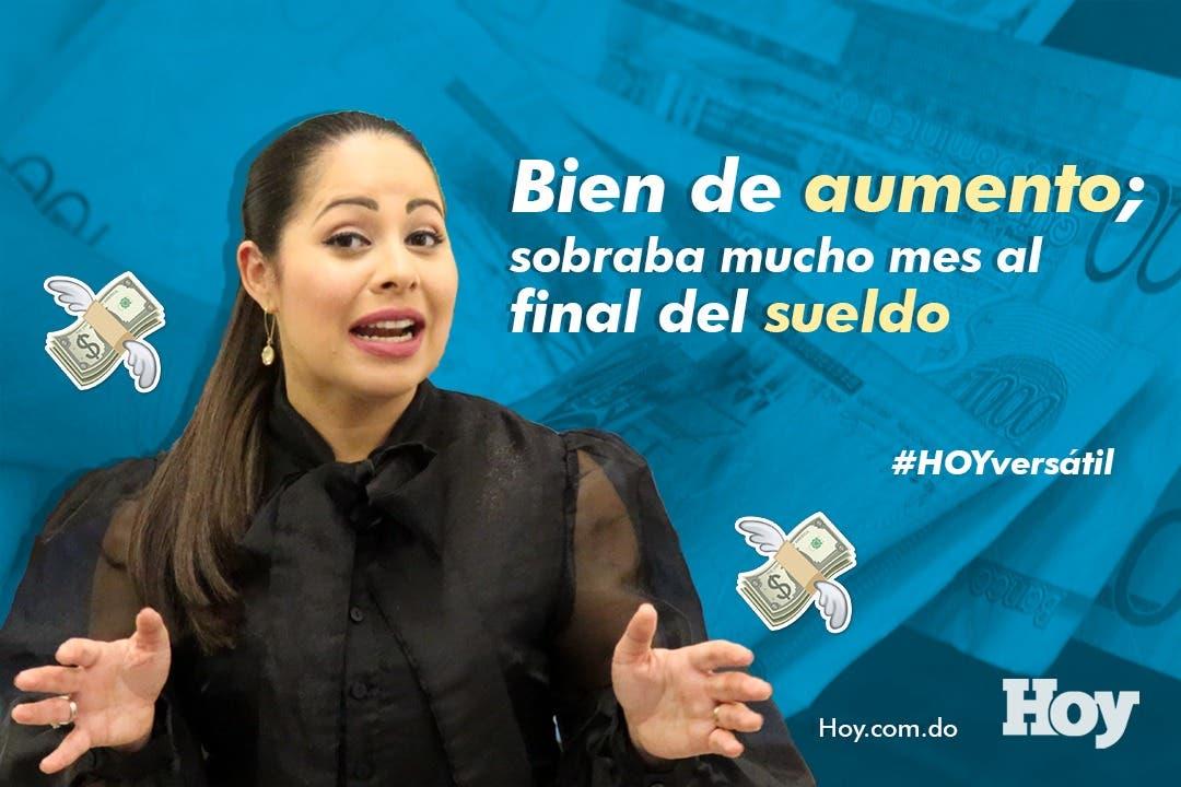#HOYVersátil Bien de aumento salarial: sobraba mes al final del sueldo