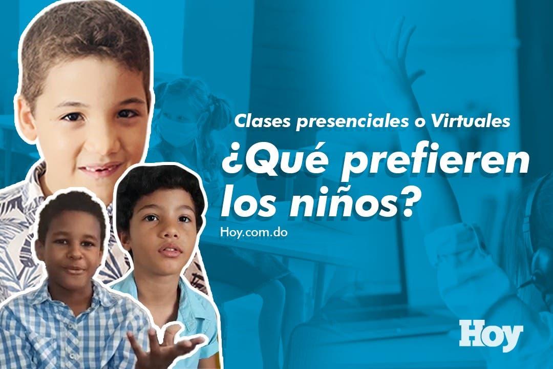 Clases presenciales o virtuales ¿Qué prefieren los niños?