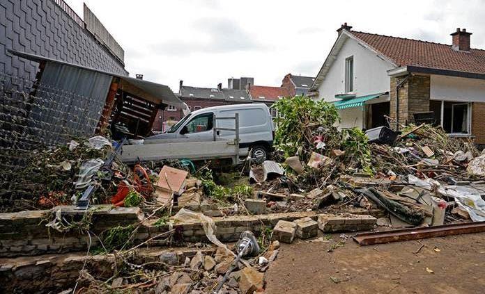 Bélgica tardará años en reparar los destrozos que dejaron las inundaciones