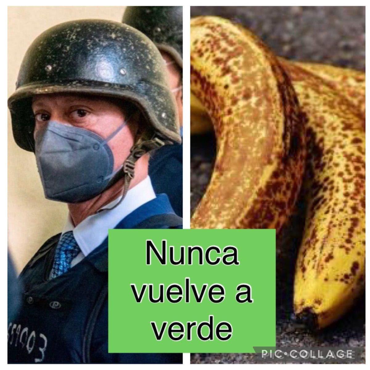 Memes por los plátanos de Jean Alain saturan las redes sociales