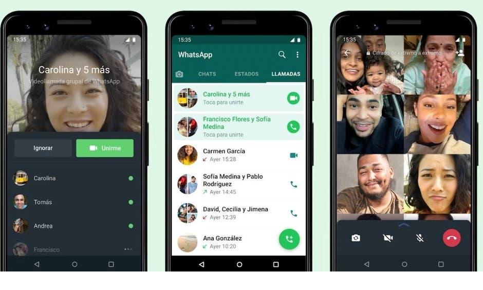 WhatsApp ya permite unirse a llamada incluso después de que esta inicie