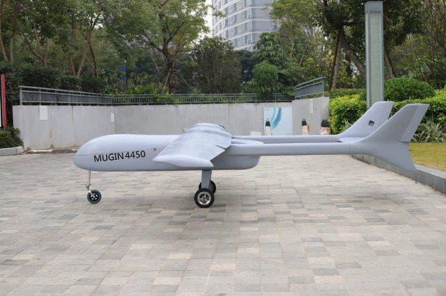 Un «narcodrone» capaz de transportar 150 kilos de droga fue incautado por la Policía española
