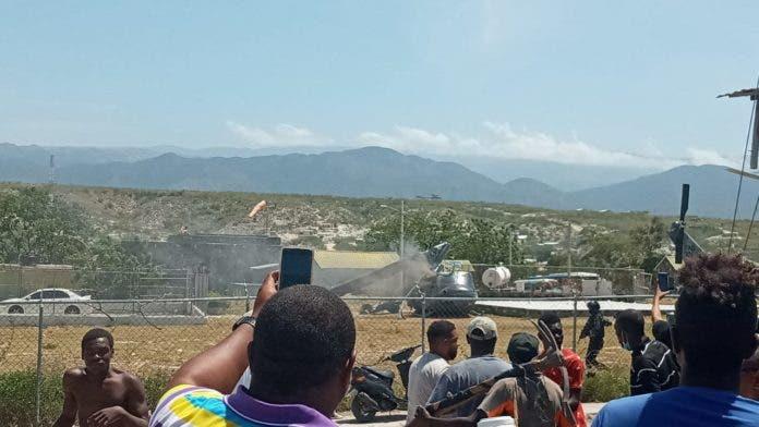 Tripulantes ilesos tras accidente en helicóptero de la Fuerza Aérea