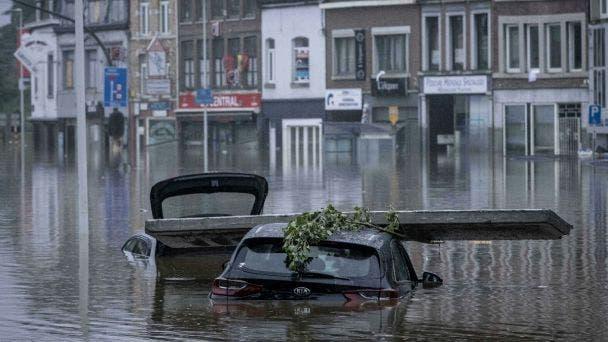 Inundaciones dejan más de 60 muertos en Europa
