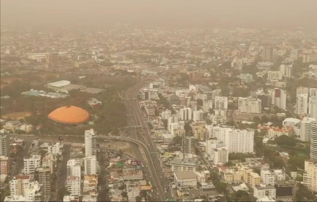 Polvo del Sahara ya está en RD; pronostican calor y alergias respiratorias