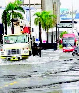 ¡Saque su paraguas! Se registrarán aguaceros sobre litoral del Caribe