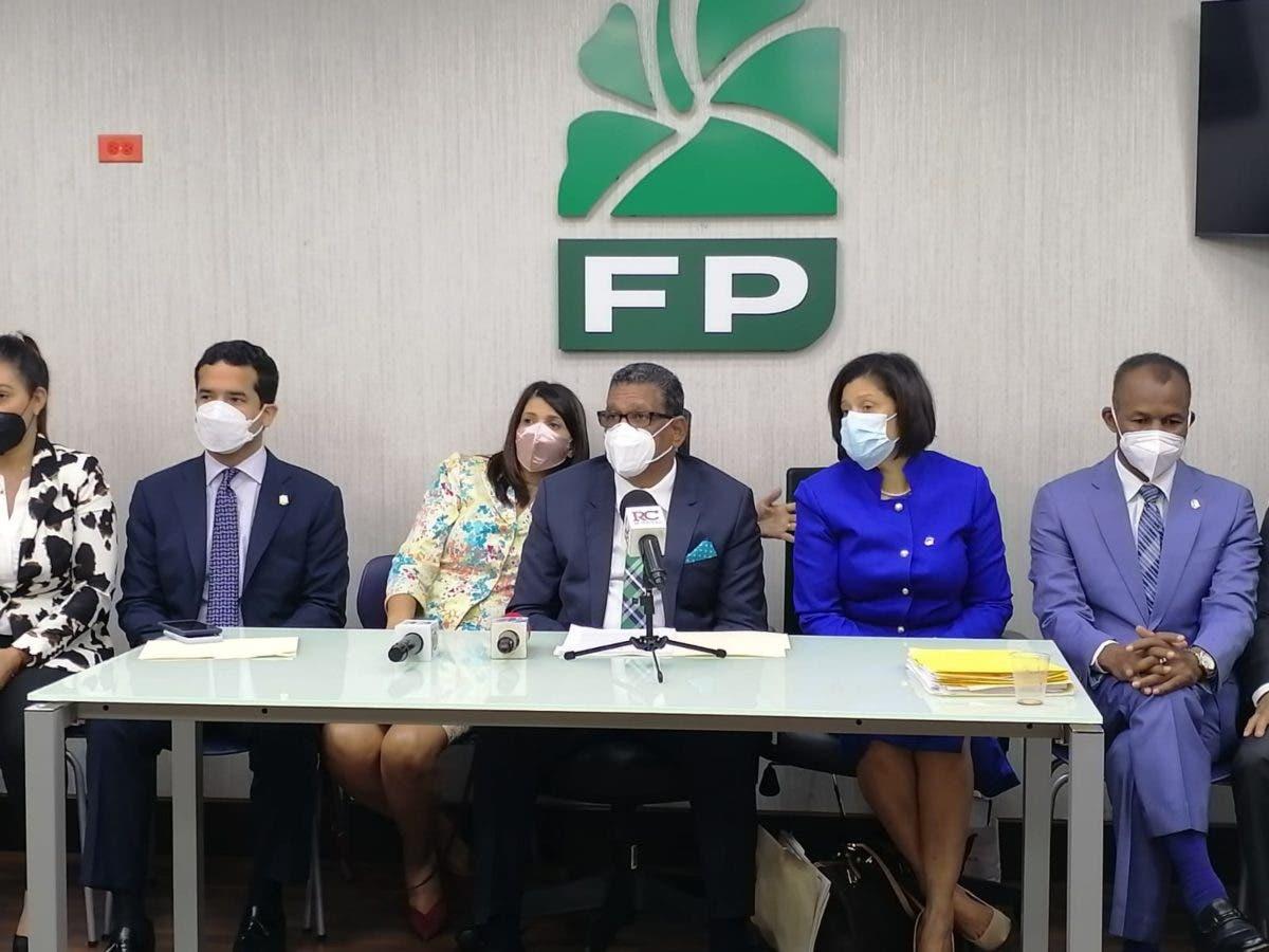 Diputados FP denuncian posible trama en JCE para desacatar sentencia de TSA