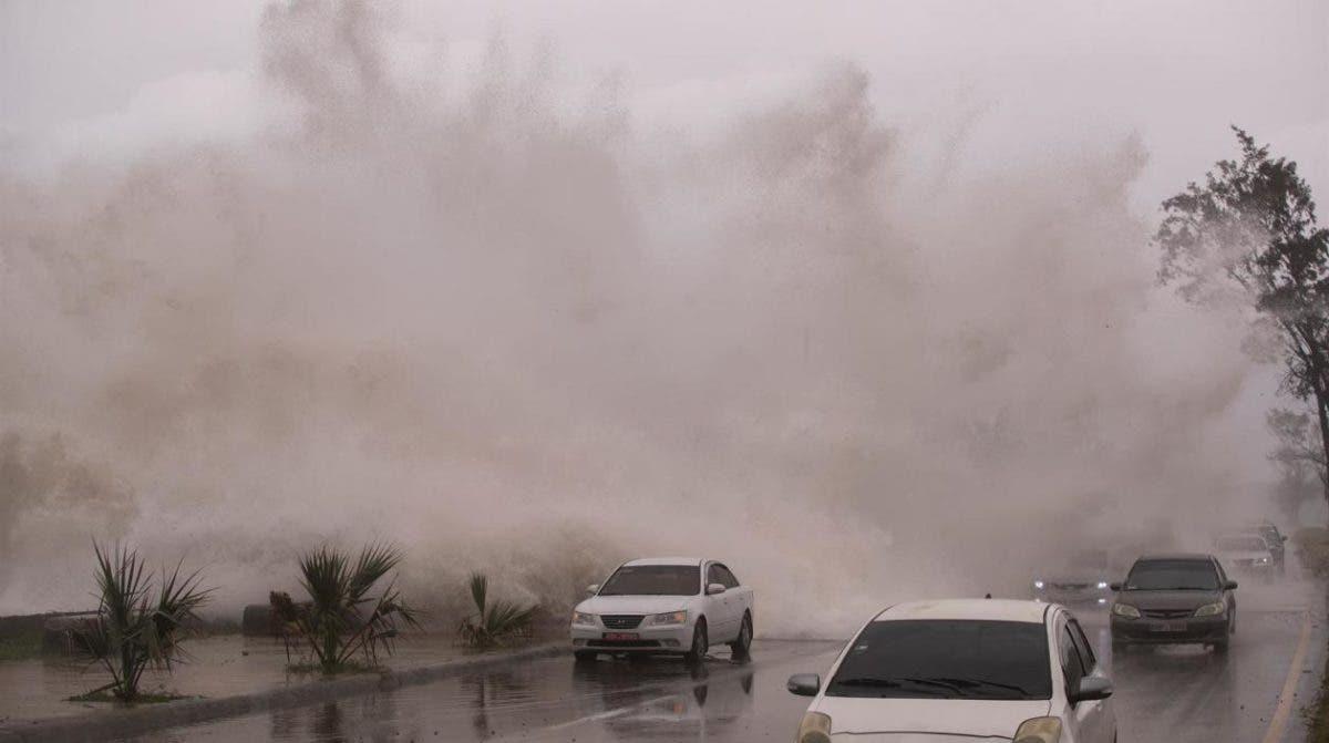 Los efectos de la tormenta tropical Elsa en República Dominicana