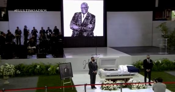 """EN VIVO: Ceremonia """"El Último Adiós"""" en honor a Johnny Ventura en el Palacio de los Deportes"""