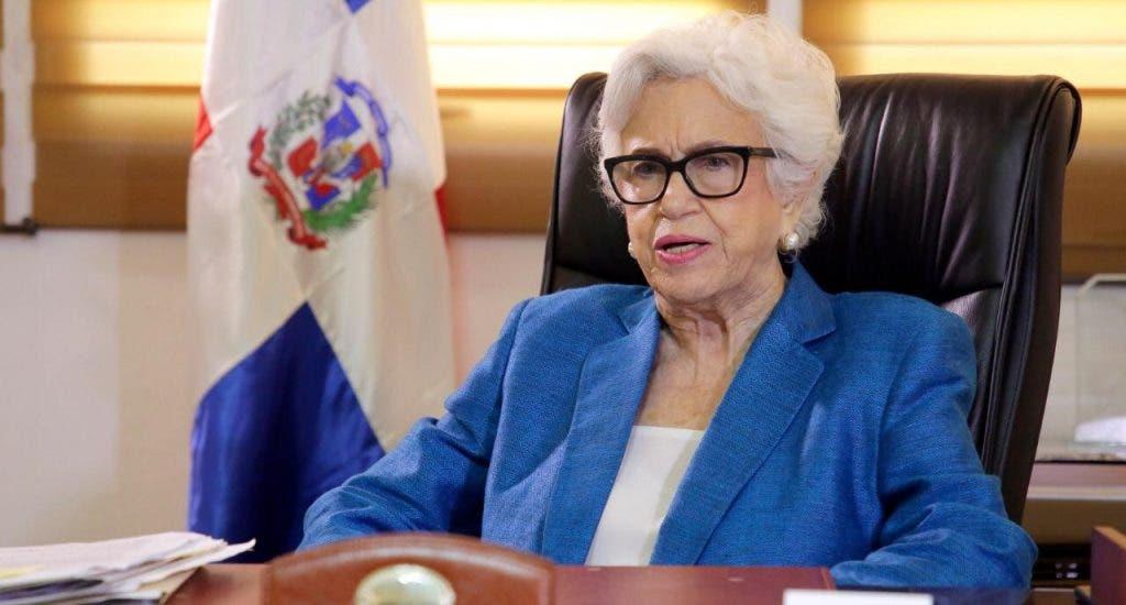 Ortiz Bosch: «Tranquiliza»  que denuncia de supuestos cobros en Educación esté en Procuraduría