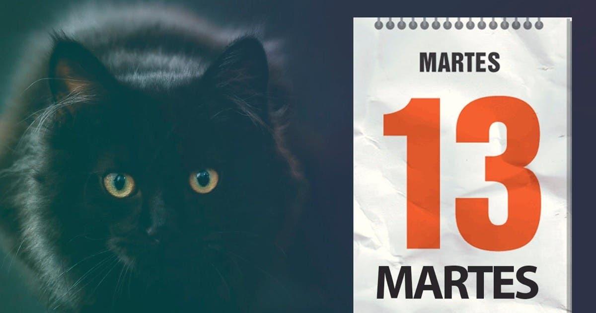 ¿Cree usted que el martes 13 es un día de mala suerte?