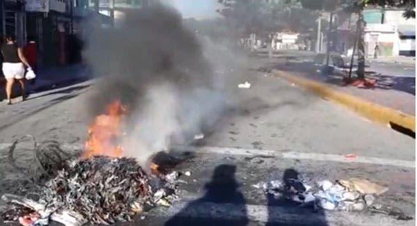 Huelga en Bonao afecta actividades del comercio