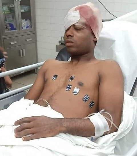 Sigue en cuidados intensivos raso se hirió accidentalmente en la cabeza