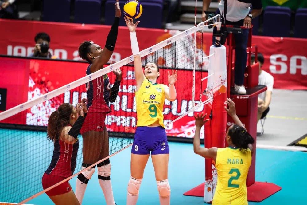 Las Reinas del Caribe caen ante Brasil en Juegos Olímpicos de Tokio