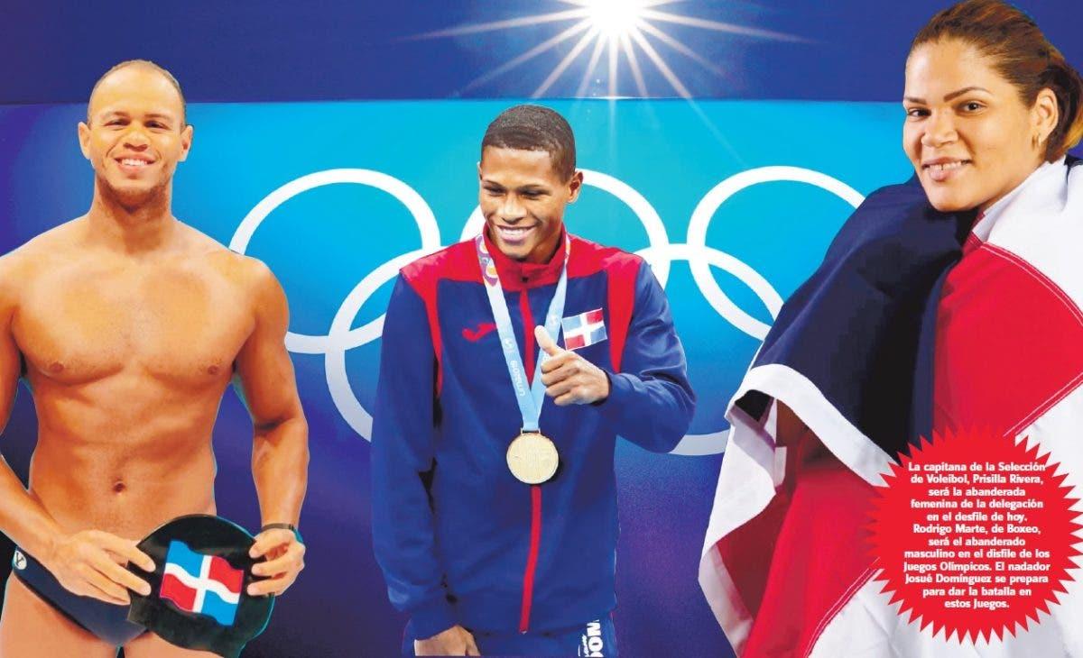 ¡Llegó el día! Atletas de RD tras medallas en Tokio