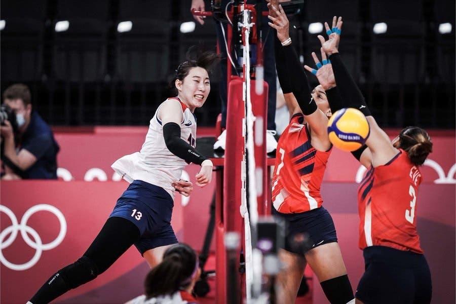 Las Reinas del Caribe encajan ante Corea su tercera derrota en Tokio 2020