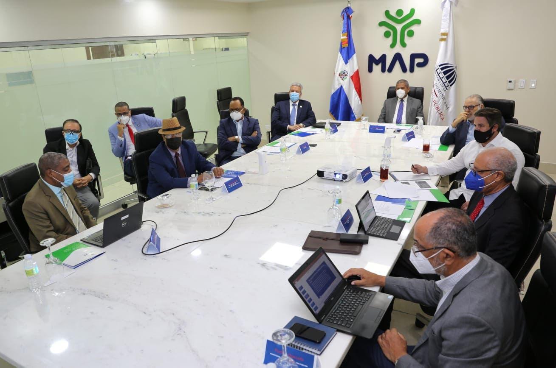 Presentan informe a Comisión de Reforma de la Administración Pública