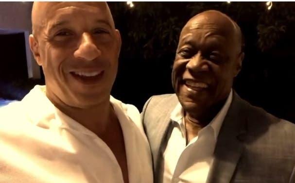 Video |  Vin Diesel se despide de Johnny Ventura: «Descansa bien, amigo mío»